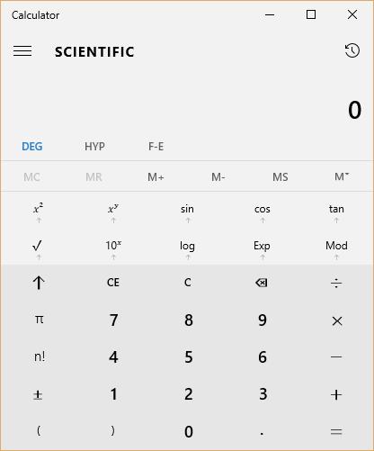 windows calculator exe
