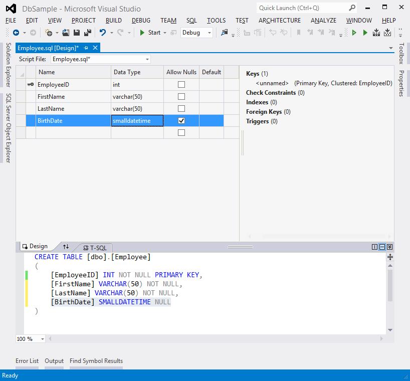 SQL Server Data Tools (SSDT) · Nadeem Afana's Blog